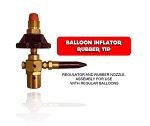 INFLATOR AND RUBBER NOZZLE.