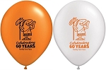 60TH ANNIVERSARY Little Caesars Pizza METALLIC Balloons-25 count. FREE Shipping for orders above $75.00 - FLAT $10.00 fee for orders below $75.00